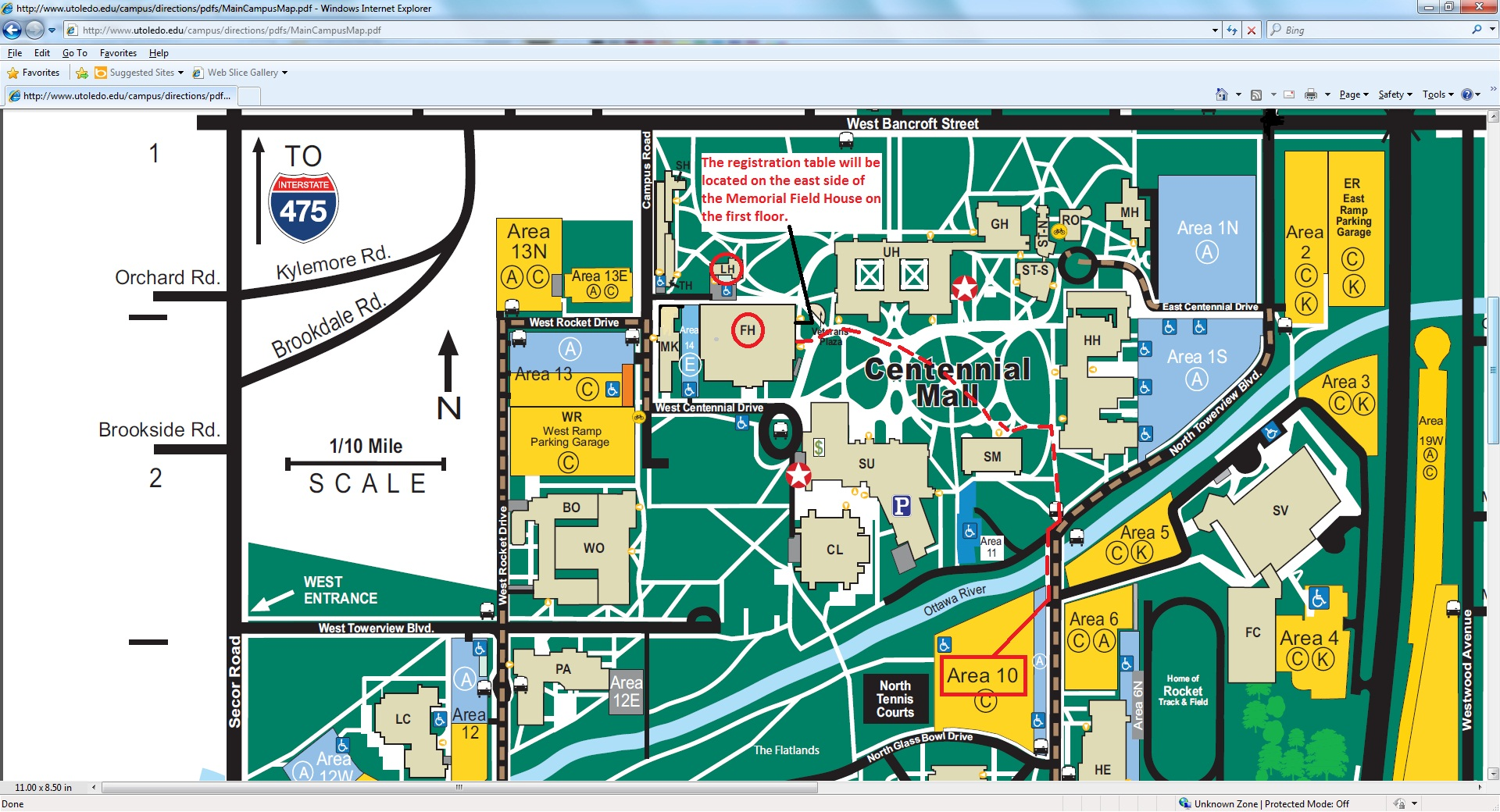 Wittenberg University Campus Map 86203 | LOADTVE